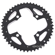 Shimano Deore LX FC-T671 104mm BCD 4 Arm Outer Chainring - Black - 48T-AL - For Chainguard