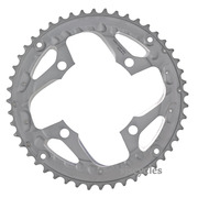 Shimano Deore LX FC-T671 104mm BCD 4 Arm Outer Chainring - Silver - 48T-AL - For Chainguard