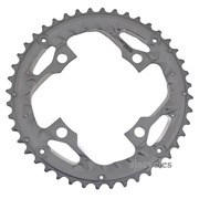 Shimano Deore LX FC-T671 104mm BCD 4 Arm Outer Chainring - AE Type - Silver - 44T - For Chainguard