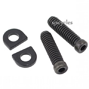 Shimano Dura-Ace Di2 RD-7970 Stroke Adjusting Bolts & Plate - M4 x 13.5mm - Y5X298020