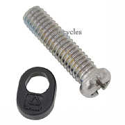 Shimano XTR RD-M980 B-Tension Adjusting Screw & Plate - M4 x 15.1mm - Y5XC98040