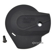 Shimano Deore LX SL-T670 Main Lever Cover & Fixing Screw - Right - Y6W798050