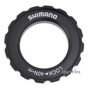 Shimano Deore HB-M618 Front Left Lock Ring & Washer - Y24698030
