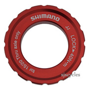 Shimano Deore XT WH-M776-F Front Lockring & Washer - Y4DD98030