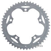 Shimano Claris FC-2403 130mm BCD 5 Arm Outer Chainring - Silver - 50T-D - For Chainguard