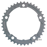 Shimano Claris FC-2403 130mm BCD 5 Arm Middle Chainring - Silver - 39T-D