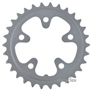 Shimano Claris FC-2403 74mm BCD 5 Arm Inner Chainring - Silver - 30T