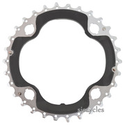 Shimano SLX FC-M672 96mm BCD 4 Arm Middle Chainring - 30T-AN