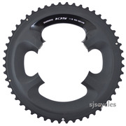 Shimano 105 FC-5800 110mm BCD 4 Arm Outer Chainring - Black - 52T-MB