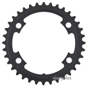 Shimano 105 FC-5800 110mm BCD 4 Arm Inner Chainring - MB Type - Black - 36T