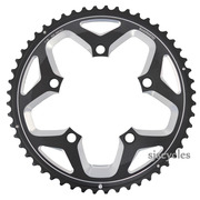 Shimano FC-RS500 110mm BCD 5 Arm Outer Chainring - Black - 52T-MJ