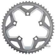 Shimano FC-RS500 110mm BCD 5 Arm Outer Chainring - Silver - 52T-MJ
