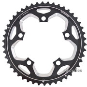 Shimano FC-RS500 110mm BCD 5 Arm Outer Chainring - Black - 46T-MJ