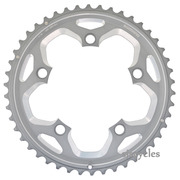 Shimano FC-RS500 110mm BCD 5 Arm Outer Chainring - Silver - 46T-MJ