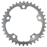 Shimano FC-RS500 110mm BCD 5 Arm Inner Chainring - Silver - 36T-MJ