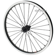 SJSC for Brompton Super Light Front Wheel – Black