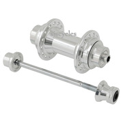 Jtek for Brompton Extra Light Front Hub - Silver
