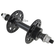 King Kong 219R Rear Fixed/Free Track Hub - Black - 36 Hole