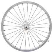 SJSC for Brompton Super Light Front Wheel – Silver