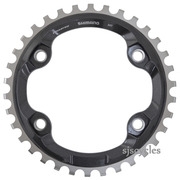 Shimano Deore XT FC-M8000 96mm BCD 4 Arm SM-CRM80 Single Chainring - 34T