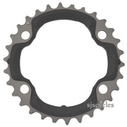Shimano XTR FC-M9020 96mm BCD 4 Arm Middle Chainring - AR Type - 30T