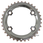 Shimano XTR FC-M9000 96mm BCD 4 Arm Outer Chainring - AS Type - 34T
