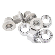 Shimano Deore FC-M615 Outer Gear Fixing Bolt & Nut Set - M8 x 7mm - Y1P098040