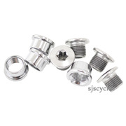 Shimano SLX FC-M675 Outer Gear Fixing Bolt & Nut Set - M8 x 7mm - Y1NA98010