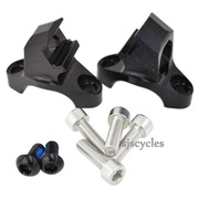 Hope Race SRAM Shifter Mount Clamps - Black - Pair