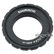 Shimano Deore XT HB-M8010 Front Lock Ring & Washer - Y2A598030