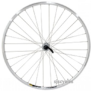 700c 622 Front Wheel 32h Mavic Open Pro C Rim with Shimano 105 Hub in Silver