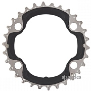 Shimano Deore XT FC-M8000 96mm BCD 4 Arm Middle Chainring - 30T-BA