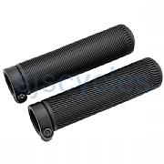 Brompton Lock-On Grips - 130 mm - Black