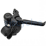 Brompton Hub Gear Shifter with Integrated Brake Lever - RHS - 3 Speed - Black / Black