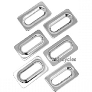 Shimano Dura-Ace SPD-SL PD-R9100 Cleat Washers - Silver - YL8898060