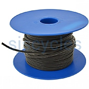 Dynamo Wire Twin Core - Black - Per Metre