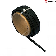 Wurth Black Heat Shrink Tubing