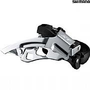 45358494052 Shimano Deore XT FD-T8000-H 10 Speed Triple Front Derailleur - Top Swing
