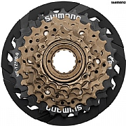Shimano 7 Speed Mf-hg37 13-28t Silver Mtb-hybrid-cruiser Bicycle Freewheel Cassettes, Freewheels & Cogs