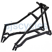 Kinetics Rear Triangle for Brompton - Stainless Steel - Satin Black