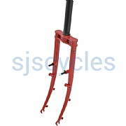 26 inch Thorn Nomad Mk3 Steel Fork - Red Imron