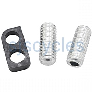 Shimano FD-R9100 adjust bolts and plate
