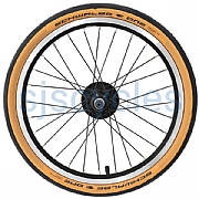 1 Pair Continental Contact Urban Brompton Tyres Tires 16x1.35 35-349