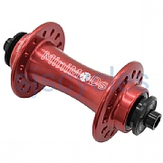 MiniMODs Hubsmith Front Hub - Red - 28 Hole