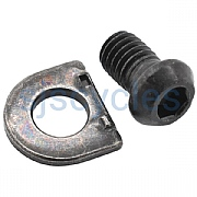 Shimano GRX RD-RX812 Cable Fixing Bolt & Plate - Y3GF98020