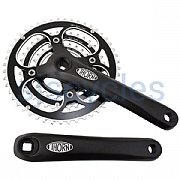 Thorn Triple Chainset - Black - 48/36/26T - 185mm