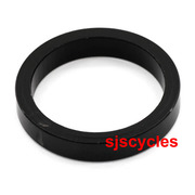 Thorn Headset Spacer Aluminium 1 1/8 Inch / 28.6 mm - Black