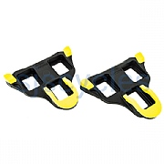 Shimano Dura-Ace SPD-SL PD-9000 SM-SH11 Cleat Set - Self-Aligning - Yellow Pontoons